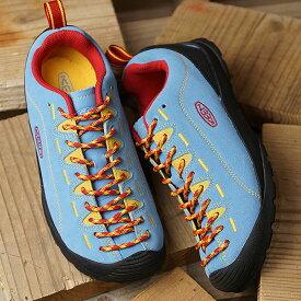 キーン KEEN レディース ジャスパー WOMEN JASPER アウトドア スニーカー 靴 Ethereal Blue/Lemon Chrome (1020331 SS19)【e】【ts】