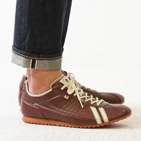 【復刻カラー】【返品送料無料】パトリック スニーカー 日本製 靴 PATRICK SULLY シュリー メンズ・レディース CHO ブラウン系 (26505)