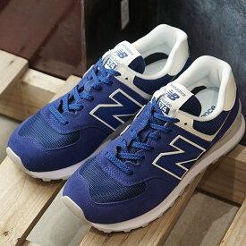 ニューバランス newbalance レディース WL574 Bワイズ スニーカー 靴 BLUE ブルー系 (WL574WEA FW19)