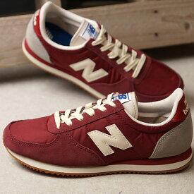ニューバランス newbalance U220 メンズ レディース Dワイズ スニーカー 靴 RED/GRAY レッド系 (U220HI FW19)