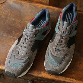 リプロダクション オブ ファウンド REPRODUCTION OF FOUND メンズ フレンチ トレーナー FRENCH MILITARY TRAINER ミリタリー スロバキア製 スニーカー 靴 CHARCOAL グレー系 (1300FS FW19)