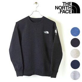 ザ・ノースフェイス THE NORTH FACE メンズ TNF スクエアロゴクルー Square Logo Crew トレーナー スウェット (NT61931 FW19)