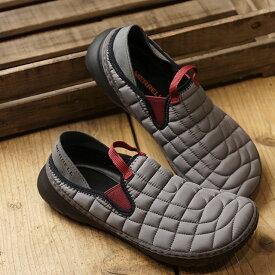 【サイズ交換片道送料無料】メレル MERRELL レディース ハット モック W HUT MOC キャンプモック アウトドア ライフスタイルシューズ スニーカー 靴 CHARCOAL グレー系 (J5001132 FW19)