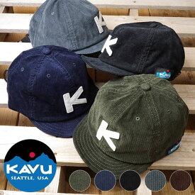 カブー KAVU コード ベースボール キャップ Coad BaseBall Cap メンズ レディース アウトドア コーデュロイキャップ 帽子 (19820936 FW19)