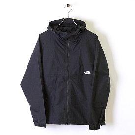 ザ・ノースフェイス THE NORTH FACE メンズ TNF コンパクトジャケット Compact Jacket (NP71830) パッカブル ナイロンジャケット アウター K ブラック ブラック系