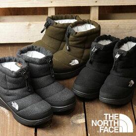ザ・ノースフェイス THE NORTH FACE レディース TNF ヌプシ ブーティー ウール 5 ショート W Nuptse Bootie Wool V Short ウィンターブーツ スノーブーツ 撥水 防寒靴 (NFW51979 FW19)