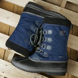 【サイズ交換片道送料無料】ソレル SOREL メンズ 1964 パックナイロン 1964 PAC NYLON メンズ・レディース スノーブーツ ウィンター アウトドア 防寒靴 C.NAVY/BLACKネイビー系 (NM3487-465 FW19)