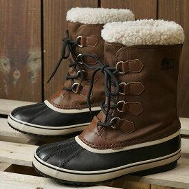 ソレル SOREL メンズ 1964 パックナイロン 1964 PAC NYLON メンズ・レディース スノーブーツ ウィンター アウトドア 防寒靴 TOBACCO/BLACKブラウン系 (NM3487-256 FW19)