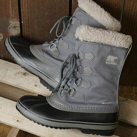 【サイズ交換片道送料無料】ソレル SOREL メンズ 1964 パックナイロン 1964 PAC NYLON メンズ・レディース スノーブーツ ウィンター アウトドア 防寒靴 QUARRY/DOVEグレー系 (NM3487-052 FW19)