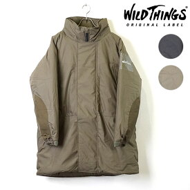 ワイルドシングス WILD THINGS ジャケット コート モンスターパーカー MONSTER PARKA メンズ・レディース 大きめシルエット プリマロフト 中綿 (WT19104SN FW19)
