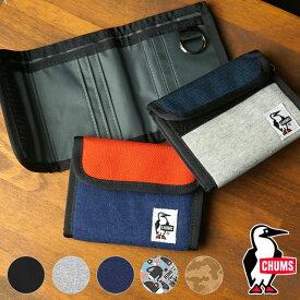 【楽天カードで3倍】チャムス CHUMS トリフォルドウォレットスウェットナイロン Trifold Wallet Sweat Nylon [CH60-2688 FW20] メンズ・レディース 財布 2つ折り セカンド財布 【メール便可】