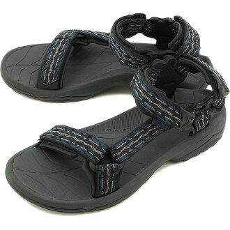 Teva Terra Fi 建兴 Terra 皮皮光为 Teva 拖鞋,FIRETREAD 男式运动凉鞋午夜 (1001473-FTM)