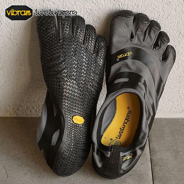 【即納】Vibram FiveFingers ビブラムファイブフィンガーズ メンズ EL-X イーエルエックス Gray/Black ビブラム ファイブフィンガーズ 5本指シューズ ベアフット靴 (16M0101)
