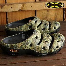 【楽天カードで12倍】キーン ヨギ アーツ KEEN Yogui Arts MNS Camo Green クロックサンダル 靴 メンズ [1002034]