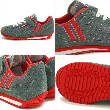 【ジュニアサイズ】パトリックスニーカーインファント靴マラソン・ベルクロPATRICKMARATHON-VGRY(EN7524-JSS16)