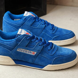 Reebok CLASSIC Reebok classical music WORKOUT PLUS VINTAGE practice game  plus vintage AWESOME BLUE CHALK ... 0a4b1ab3d