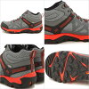 MERRELL メレルメンズ MENS OUTRIGHT EDGE MID WATERPROOF out light edge mid waterproof CASTLE ROCK/FIERY RED (342255C SS17)