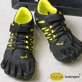 【9/19 14時までポイント10倍】Vibram FiveFingers ビブラムファイブフィンガーズ メンズ MNS V-TRAIN BLAKC/GREEN ビブラム ファイブフィンガーズ 5本指シューズ ベアフット 靴 (17M6602)【コンビニ受取対応商品】