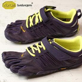 【ショップポイント10倍!1/31まで】Vibram FiveFingers ビブラムファイブフィンガーズ レディース WMNS V-TRAIN NIGHTSHADE/S.YELLOW ビブラム ファイブフィンガーズ 5本指シューズ ベアフット 靴 (17W6606)【コンビニ受取対応商品】