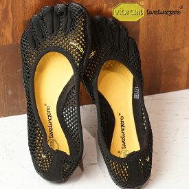 【9/19 14時までポイント10倍】Vibram FiveFingers ビブラムファイブフィンガーズ レディース WMNS VI-B BLACK ビブラム ファイブフィンガーズ 5本指シューズ ベアフット 靴 (14W2703)【コンビニ受取対応商品】
