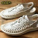 0a54301973b7 KEEN Kean unique leather sandals men UNEEK LEATHER MNS White Star White  (1017062 SS17)