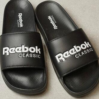 Reebok CLASSIC锐步古典CLASSIC SLIDE古典放映装置黑色/白(BS7414 SS17)