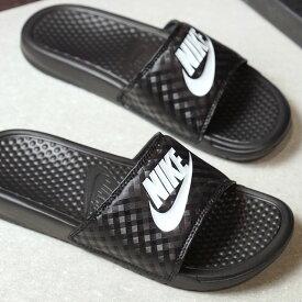 【即納】NIKE ナイキ レディース スライドサンダル 靴 WMNS BENASSI JDI ウィメンズ ベナッシ JDI ブラック/ホワイト (343881-011 SU17)【コンビニ受取対応商品】
