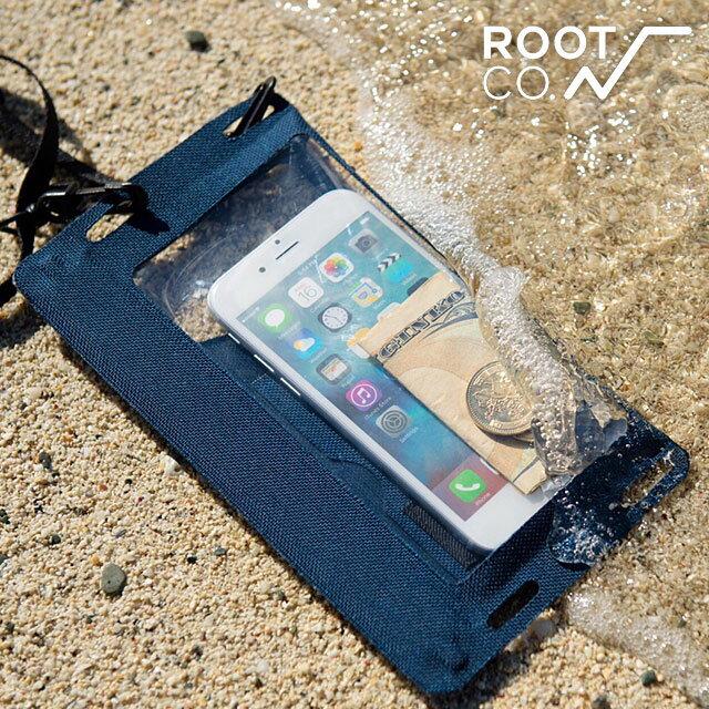 【即納】【メール便可】ROOT CO. ルート スマホケース [iPhone 6s Plus/6 Plus 5.5インチスマートフォン]Water Proof Shell. /Smart Phone/IPX8 完全防水 スマートフォンケース ポーチ (10-4303)【e】【コンビニ受取対応商品】