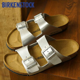 BIRKENSTOCK ビルケンシュトック キッズ ARIZONA アリゾナ シルバー 靴 (GK555133 SS17)【e】【ts】