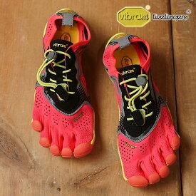 【月間優良ショップ】Vibram FiveFingers ビブラムファイブフィンガーズ レディース ランニングモデル WMN V-RUN FIERY CORAL ビブラム ファイブフィンガーズ 5本指シューズ ベアフット 靴 (17W7004)【コンビニ受取対応商品】