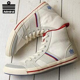 Admiral アドミラル スニーカー 靴 INOMER HI イノマー ハイ WHITE/TRICOLOR (SJAD1511-0114)【e】【ts】