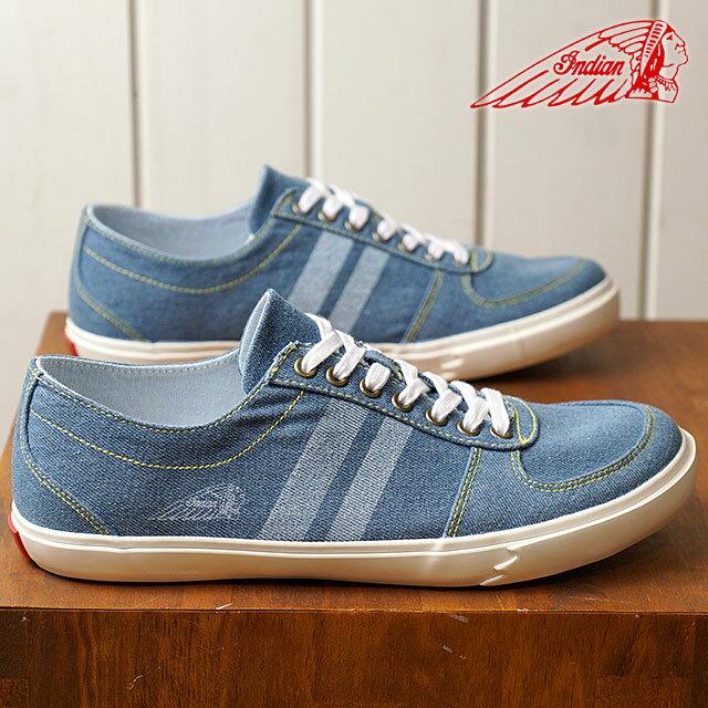 【在庫限り】INDIAN インディアン スニーカー 靴 メンズ・レディース CoxBay コックスベイ L.BLUE (IND-12238 IND-11238 SS18)【ts】【e】【コンビニ受取対応商品】