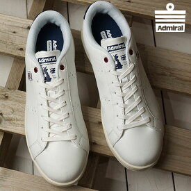Admiral アドミラル スニーカー 靴 メンズ・レディース CAMBRIDGE ケンブリッジ White/Navy (SJAD1810-0110 SS18)【コンビニ受取対応商品】
