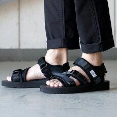 【即納】スイコックSUICOKEストラップスポーツサンダルビブラムKISEE-V靴メンズ・レディースBLACK(OG-044VSS18)【コンビニ受取対応商品】