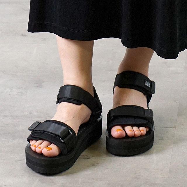 【即納】スイコック SUICOKE ストラップ スポーツサンダル 厚底 ビブラム CEL-VPO 靴 メンズ・レディース BLACK (OG-064VPO SS18)【コンビニ受取対応商品】