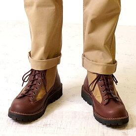 【ショップポイント5倍!1/31まで】Danner ダナー マウンテンブーツ メンズ DANNER FIELD ダナー フィールド DARK BROWN/BEIGE 靴 (D121003 SS18)【コンビニ受取対応商品】