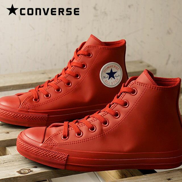 【即納】【撥水】CONVERSE コンバース スニーカー 靴 ALL STAR 100 WR SL HI オールスター 100 WR SL ハイカット レディース レッド (32961802 SU18)【コンビニ受取対応商品】