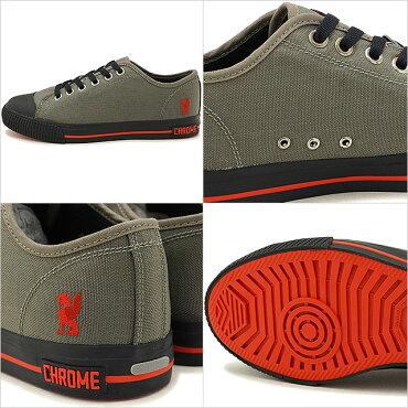 クロームCHROMEクルスクKURSKメンズスニーカー靴GREY(FW106GY0SS18)【コンビニ受取対応商品】