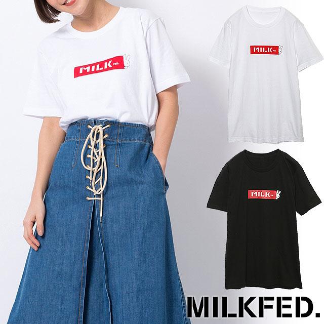 【即納】【メール便可】ミルクフェド MILKFED. ミッフィー Tシャツ MILKFED.×MIFFY S/S TEE 半袖 トップス レディース (3182103 SU18)