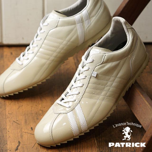 【即納】【返品送料無料】PATRICK パトリック スニーカー S.GRD-LE シュリー グラデーション レザー CRM メンズ 靴 SULLY (530360 SS18Q2)【コンビニ受取対応商品】
