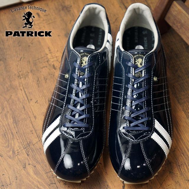 【即納】【返品送料無料】PATRICK パトリック スニーカー S.GRD-LE シュリー グラデーション レザー NVY メンズ 靴 SULLY (530362 SS18Q2)【コンビニ受取対応商品】