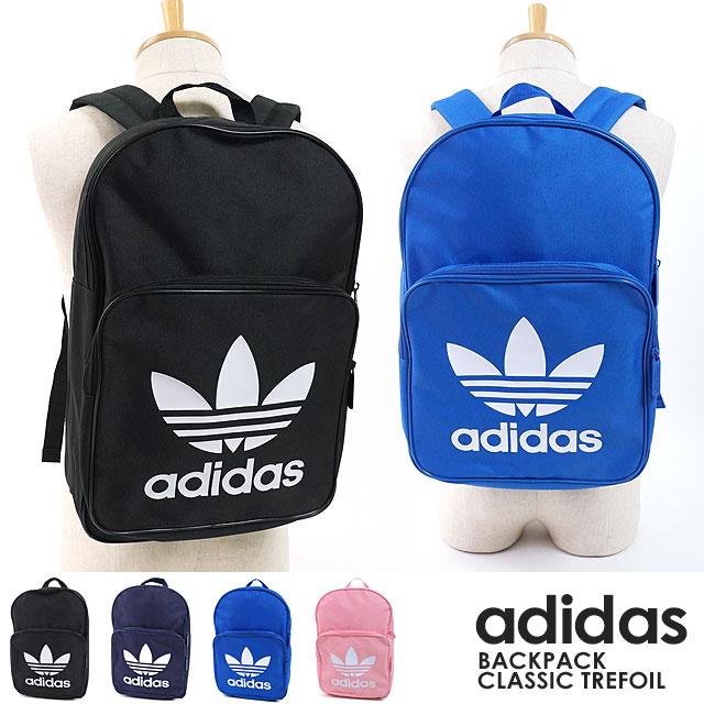 【即納】adidas Originals アディダス オリジナルス バッグ リュックサック BACKPACK CLASSIC TREFOIL バックパック クラシック トレフォイル デイパック メンズ・レディース (FKE68/DJ2170 DJ2171 DJ2172 DJ2173 FW18)【コンビニ受取対応商品】
