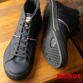 モーブス mobus ホーフ ミッド HOF MID water-repellent 撥水性あり スニーカー メンズ レディース 靴 BLACK (M-1826WR-2020 FW18)