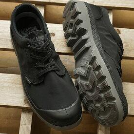 【即納】パラディウム PALLADIUM パンパ ロー パドルライト WPプラス PUMPA OX PUDDLE LITE WP+ メンズ レディース スニーカー 靴 BLACK/METAL (76356-005 SS19)