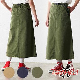 グラミチ GRAMICCI Lady's stretch Baker skirt BAKER SKIRT (GLSK-19S006 SS19)