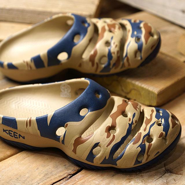 【即納】キーン KEEN メンズ ヨギ アーツ MEN YOGUI ARTS サンダル 靴 Desert Dawn/Sand Wave (1020292 SS19)