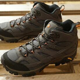 【サイズ交換片道送料無料】メレル MERRELL メンズ モアブ2 ミッド ゴアテックス MNS MOAB2 MID GORE-TEX ハイキング トレッキングシューズ スニーカー 靴 BELUGA グレー系 (06059 SS19)