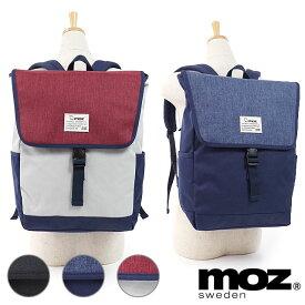 【即納】モズ moz フラップバックパック メンズ レディース リュックサック デイパック 通勤 通学 カバン (ZZEI-12 SS19)