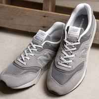 ニューバランスnewbalanceCM997HCAメンズレディーススニーカー靴MARBLEHEADグレー系(CM997HCASS19)