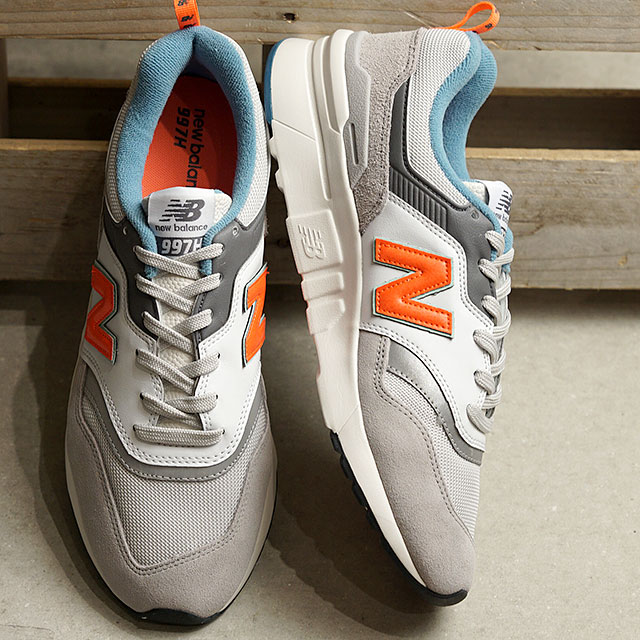 【即納】ニューバランス newbalance CM997H AG メンズ レディース スニーカー 靴 RAIN CLOUD グレー系 (CM997HAG SS19)